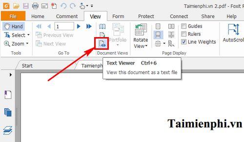cach thay doi co chu file pdf bang foxit reader 2