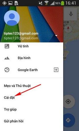 tang toc dinh vi vi tri tren Google Maps