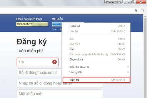 cach xem mat khau facebook da luu tren may tinh laptop 2