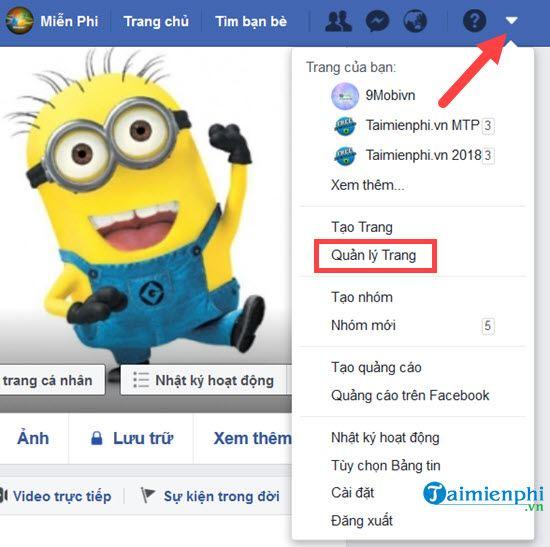 cach xem minh dang la admin cua fanpage facebook nao huy admin 2