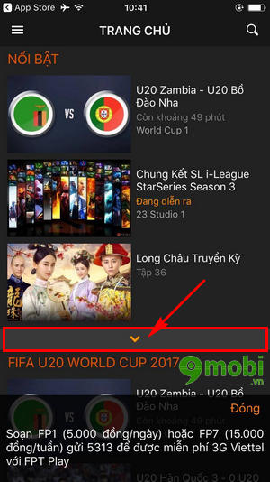 cach xem truc tiep u20 worldcup tren dien thoai 2