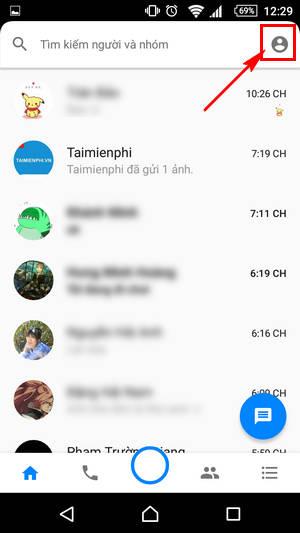 cach xoa da xem tren facebook messenger cho dien thoai 2