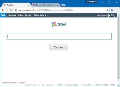 Cách Xóa, Gỡ Bỏ (remove) Search.surfilters.com, My-bing