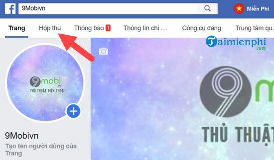 cach xoa tin nhan tren fanpage facebook 2