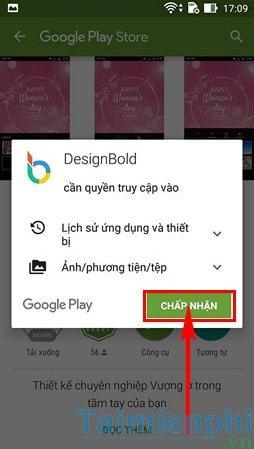 cai designbold cho android