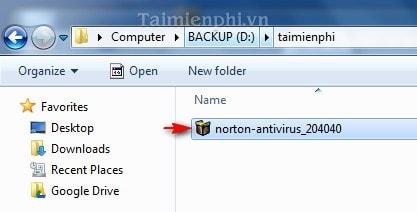 Hướng dẫn cài đặt Norton - Norton Antivirus & Internet Security