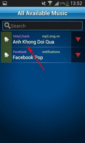 how to add an mp3 as a ringtone in android