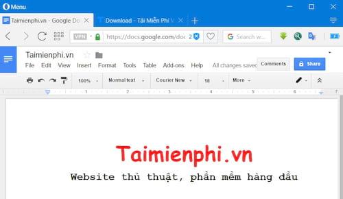 phan biet microsoft word va google docs