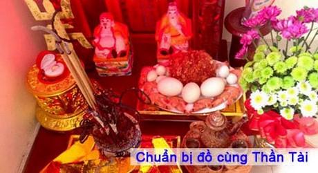 chuan bi le cung than tai mong 10 thang gieng