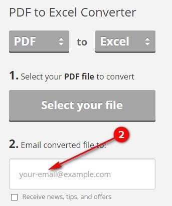 cach chuyen pdf sang excel doi file pdf sang xls