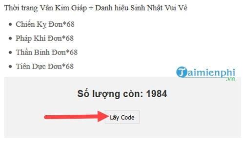 code kiem vu cach nhan nhap giftcode 2