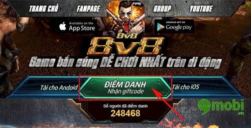 code truy kich mobile nhan gift code o dau 2