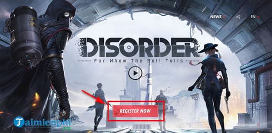 dang ky som game ban sung disorder mobile cua netease 2