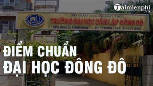 diem chuan dai hoc dong do