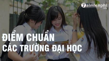 diem chuan dai hoc