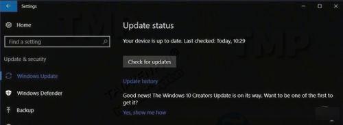 dieu can lam truoc khi nang cap windows 10 fall creators update