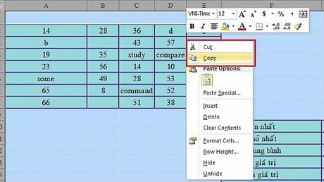 doi ma excel unikey toolkit