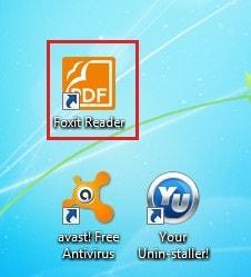 thay doi giao dien Foxit Reader