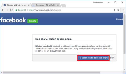 facebook bi virus cach xu ly nhu the nao 2