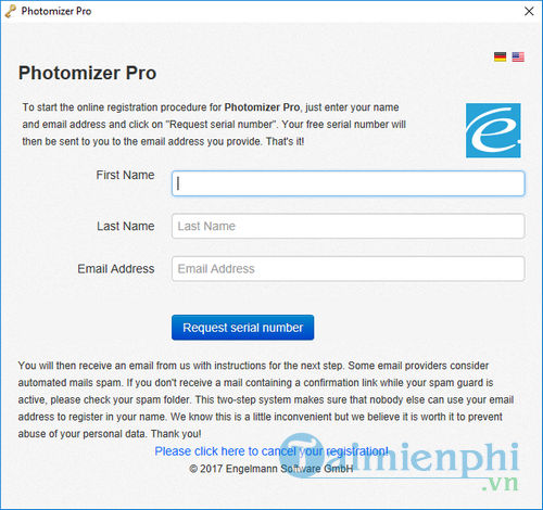 Ban quyen mien phi Photomizer Pro xu ly anh chuyen nghiep