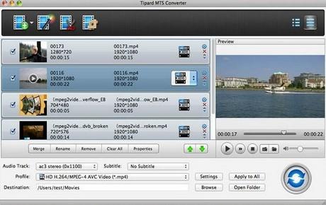 (Giveaway) Cài đặt bản quyền Tipard MTS Converter for Mac, chuyển đổi
