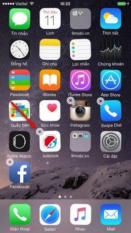 xóa trình duyệt web Adblock trên iPhone