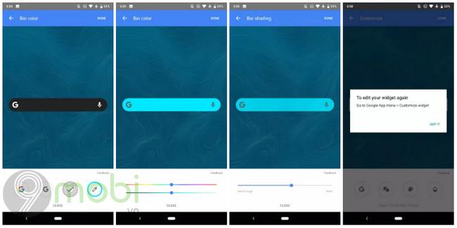google bat dau trien khai widget tim kiem cho nhieu nguoi dung 2