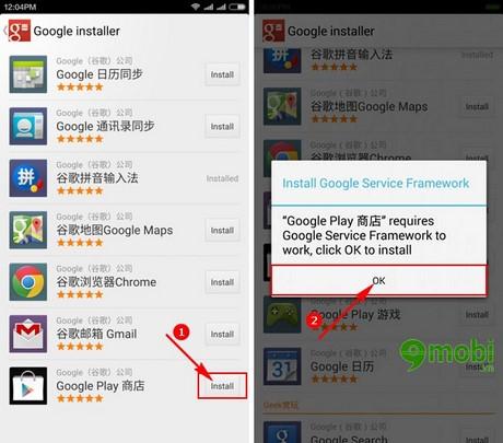 Google Installer, Cài đặt ứng dụng Google bằng 1 click