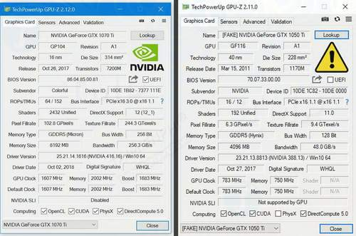 gpu z da co the phat hien card do hoa nvidia gia 2
