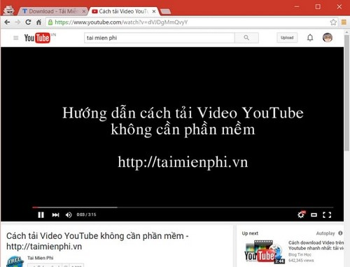 phat lai video tren youtube