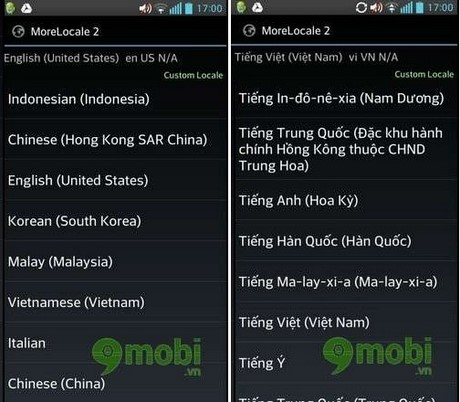 cai dat tieng viet cho android