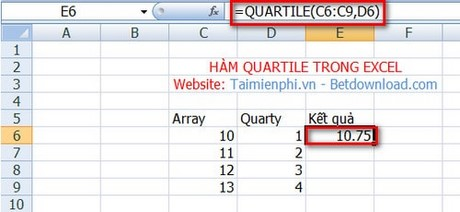 how to find quartile 1