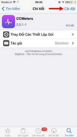 hien thi toc do 3g iphone