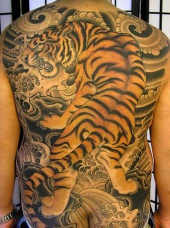 hình xăm con hổ đẹp nhất