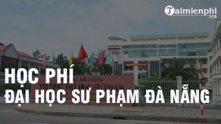 hoc phi dai hoc su pham da nang