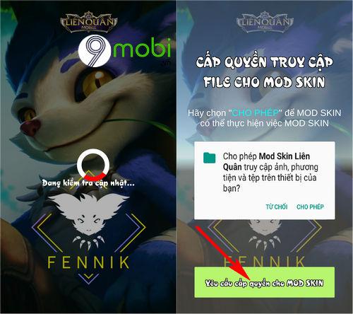 huong dan cach mod skin lien quan mobile 2