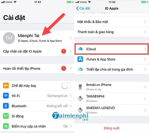 huong dan cach restore iphone bang itunes 2