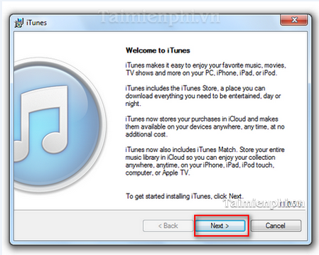 cai itunes tren pc