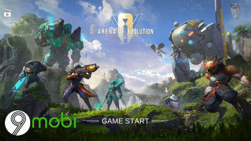 huong dan choi arena of evolution 2