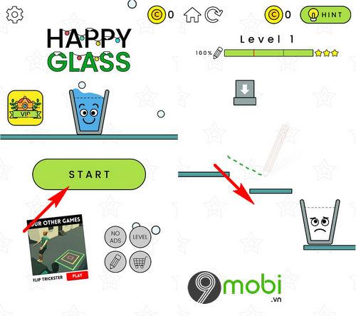 huong dan choi happy glass tren android iphone 2