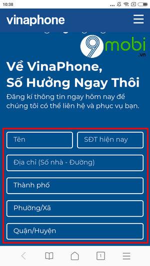 huong dan chuyen mang giu so sang vinaphone tai nha 2