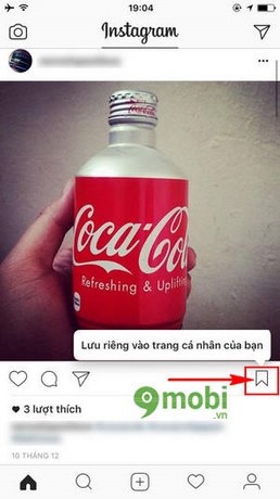 huong dan luu bai dang tren Instagram
