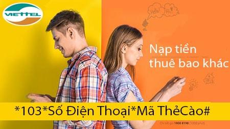 nap tien cho thue bao khac