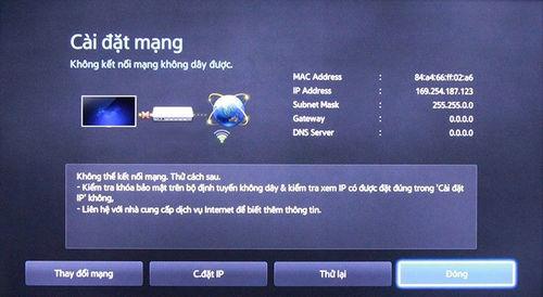 huong dan sua loi tivi khong ket noi mang internet duoc 2