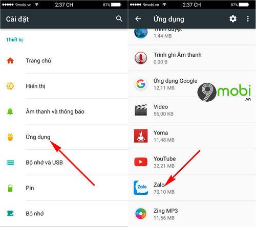 Hướng dẫn sửa lỗi Zalo không gọi được video trên Android, iPhone