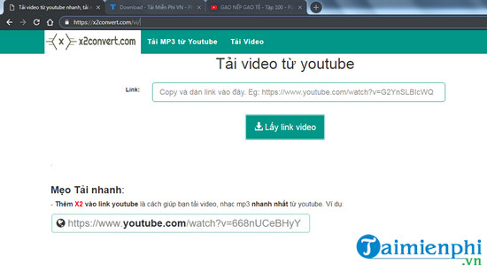 huong dan tai gao nep gao te tu youtube ve may tinh xem offline 2