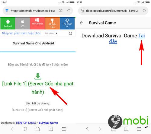huong dan tai va choi survival game 2