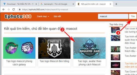 huong dan tao logo avatar theo phong cach mascot 2
