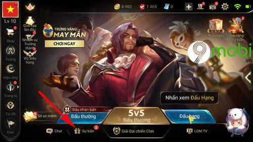 huong dan tham gia su kien dong hanh cung tuyen vn lien quan mobile 2