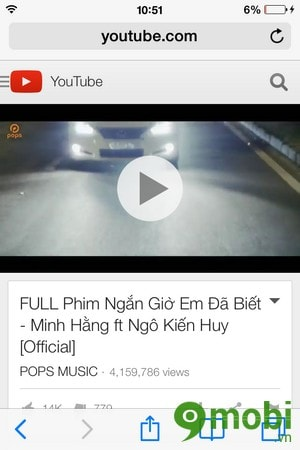 chay video youtube duoi Background tren iPhone